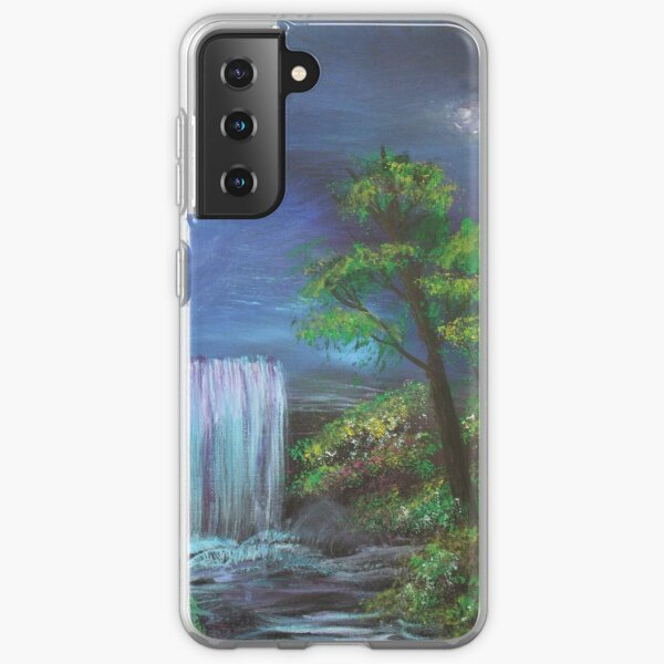 Fantasy Falls Painting Samsung Galaxy Soft Case