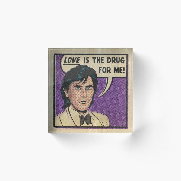 Love Drug Acrylic Block