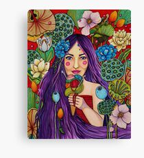Yarn in every flavor Canvas Print