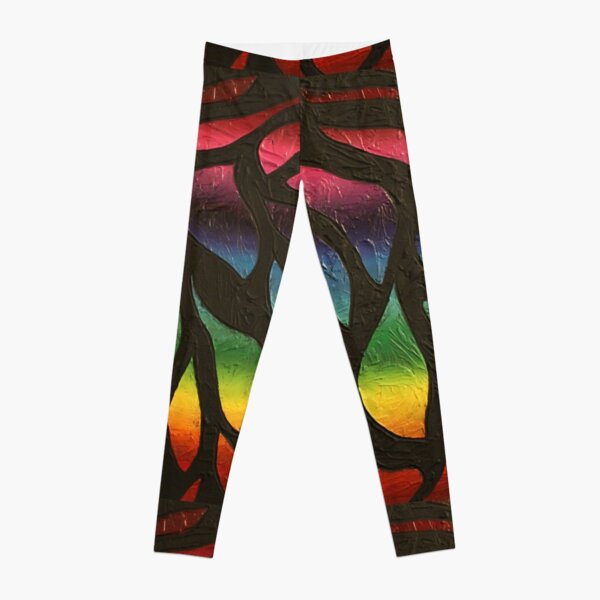 Fire Flame Painting Leggings