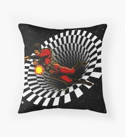 Black Hole Buck Throw Pillow