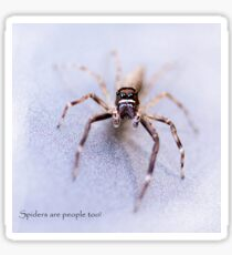 Spiders are People Too! Sticker