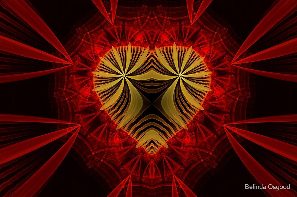 Artsy Heart by Belinda Osgood