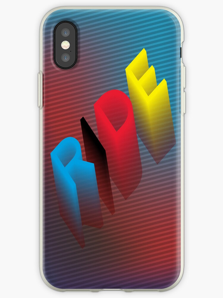 RIDE - Colorful iPhone Case by hmx23