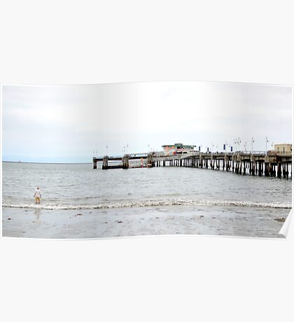 One Off the Pier Poster