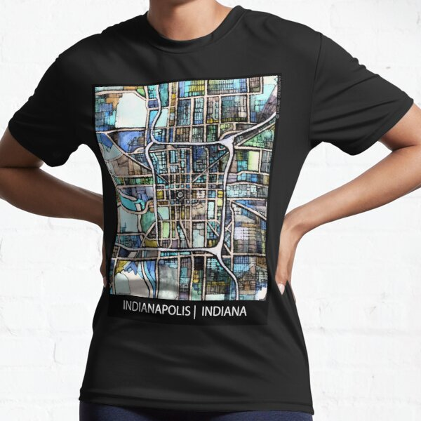 Indianapolis, IN Active T-Shirt