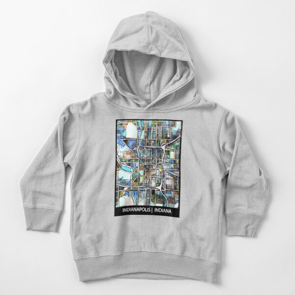 Indianapolis, IN Toddler Pullover Hoodie