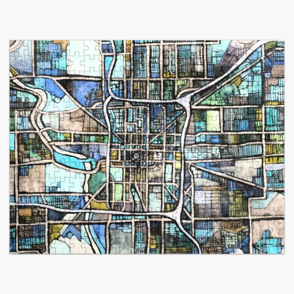 Indianapolis, IN Jigsaw Puzzle