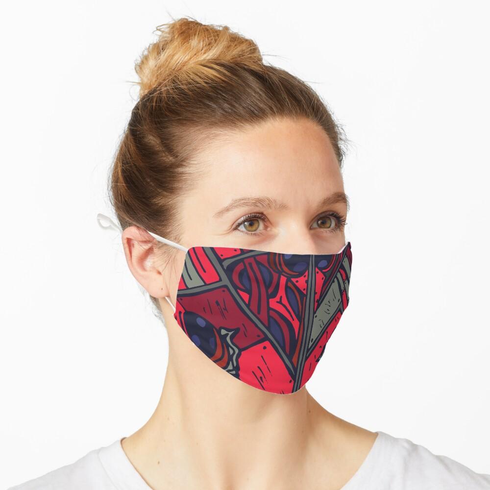 Biomechanical Ladybug Mask