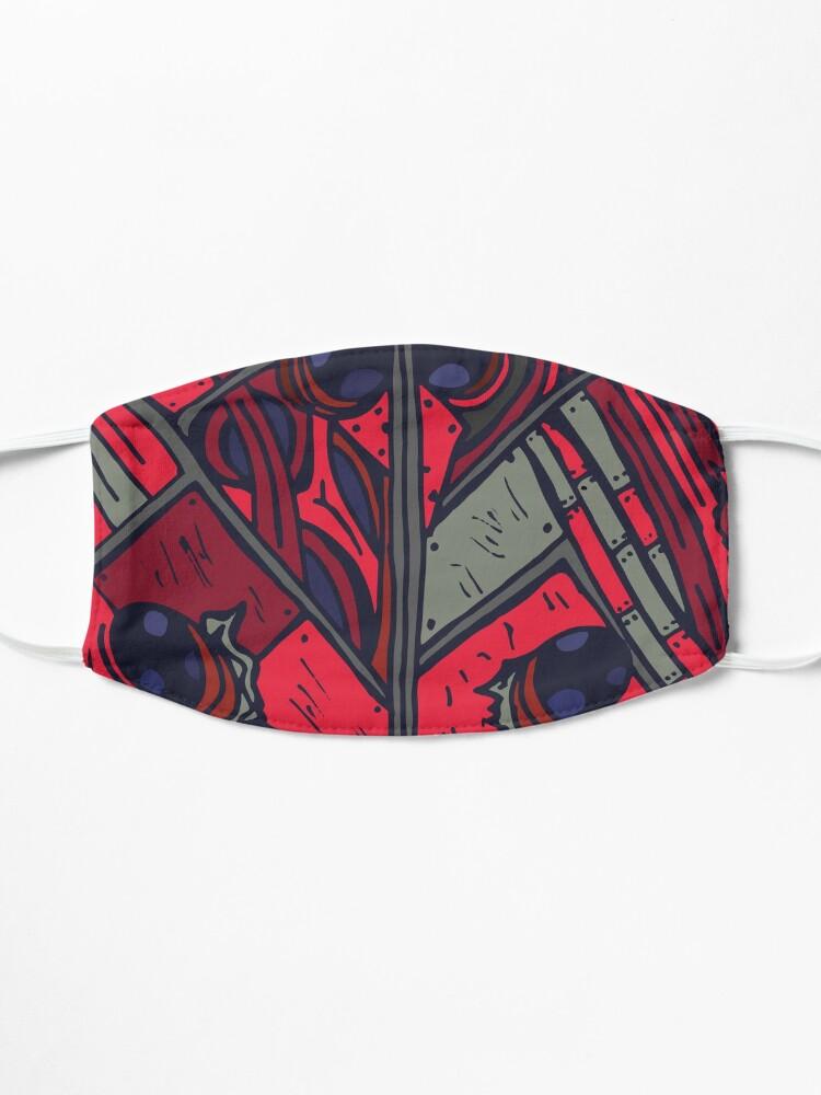 Alternate view of Biomechanical Ladybug Mask