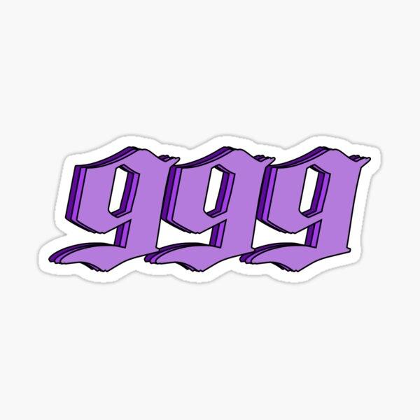 JuiceWRLD 999 Sticker