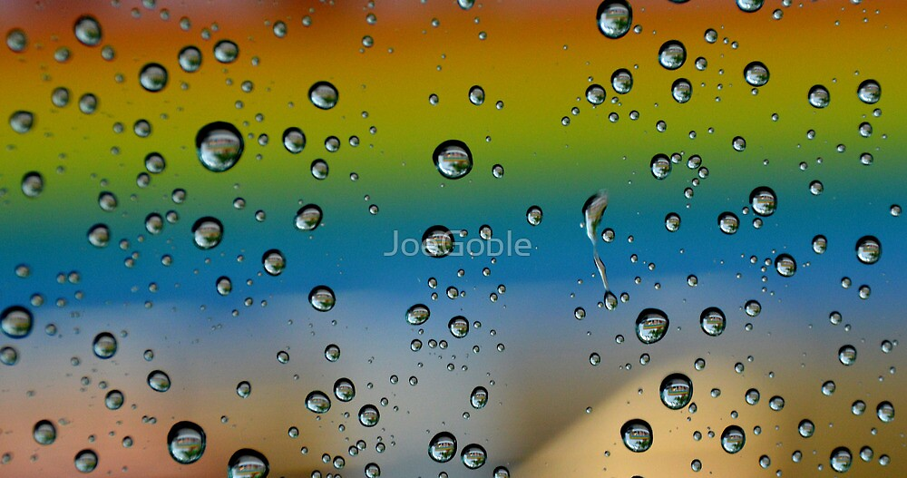 Raindrops by JoeGoble