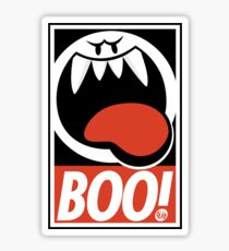 OBEY BOO! Sticker