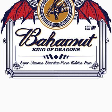 Bahamut, King of Dragons by ryanhaak