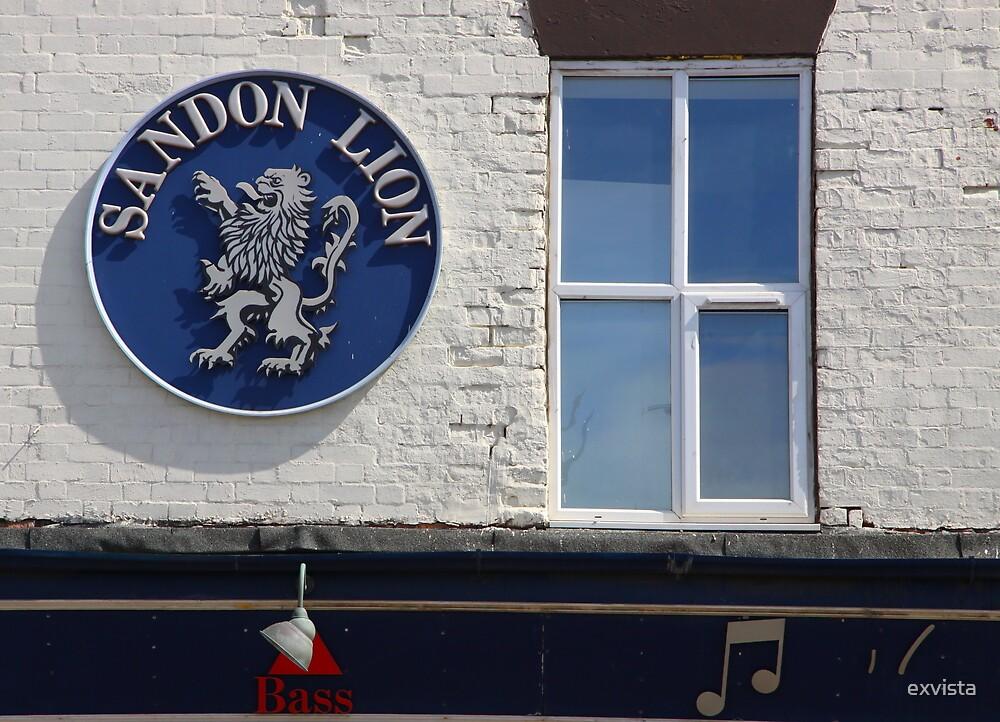 Sandon Lion, Regent Road, Liverpool, England by exvista