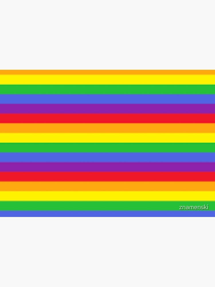 Colors, Rainbow Stripes by znamenski