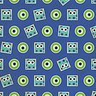 Cute Monster Pattern by thejoyker1986