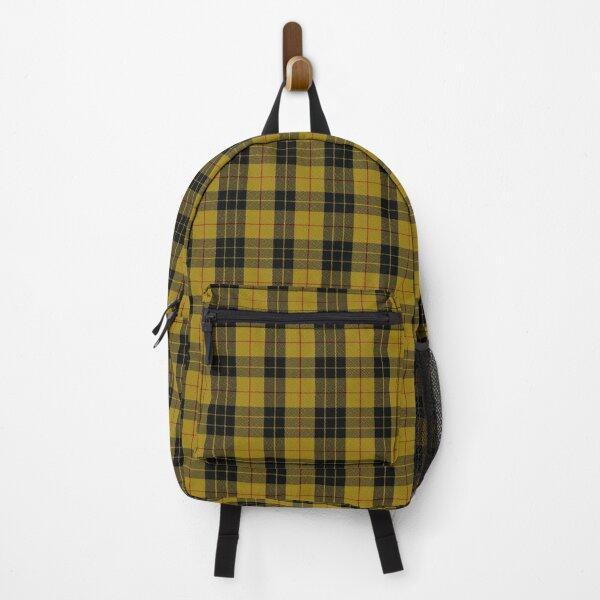 tartan weavers | Scottish Black and Red Beige Backpack