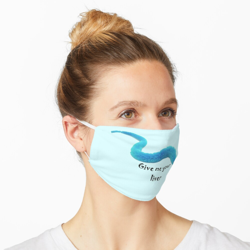 Blue Worm Mask