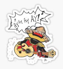 alpha cinco  Sticker