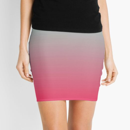 Colors, Colorfulness Mini Skirt