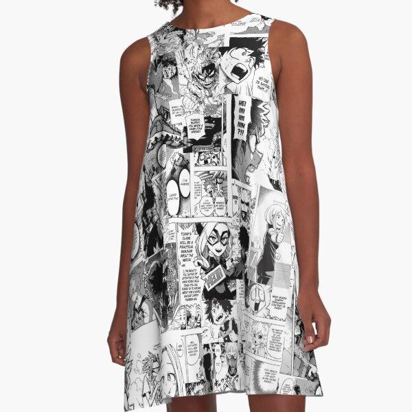 My Hero Academia Collage A-Line Dress