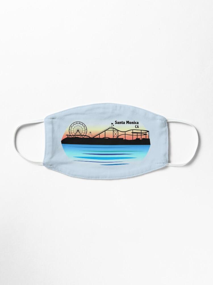 Alternate view of Santa Monica (Version 2) Mask