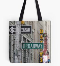 New York Street Signs Tote Bag