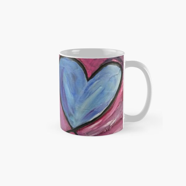 Heart Painting Classic Mug