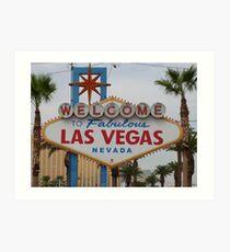 Las Vegas, USA Art Print
