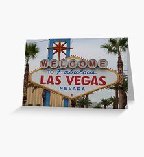 Las Vegas, USA Greeting Card