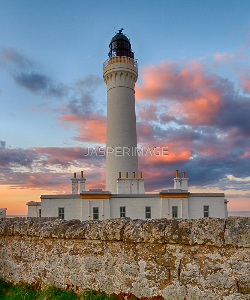 LOSSIEMOUTH - COVESEA SUNSET CLOUDS by JASPERIMAGE