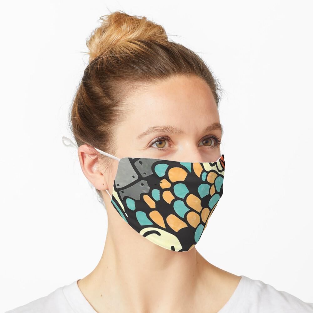Bio-Mechanical Koi Mask