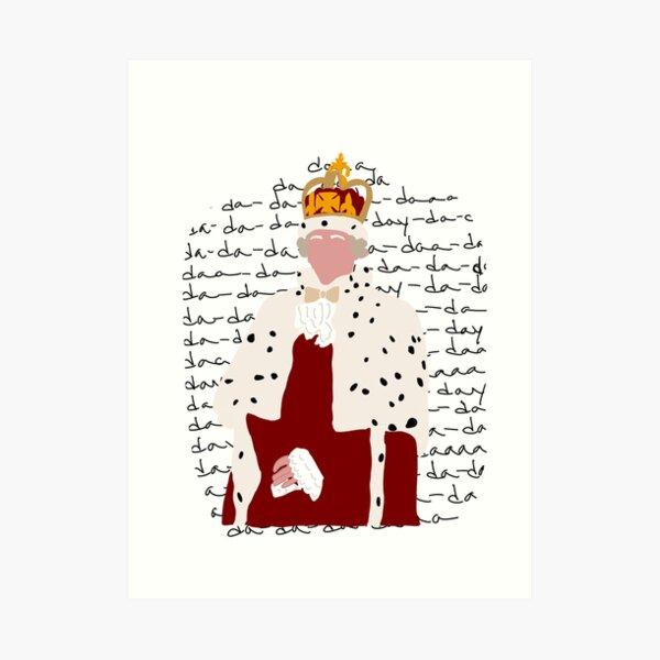 King George from Hamilton Art Print