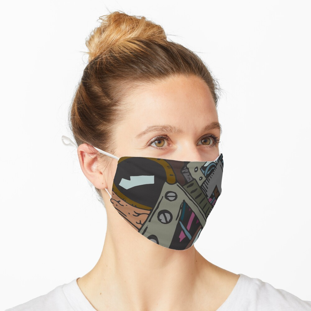Bio-mechanical Heart Mask