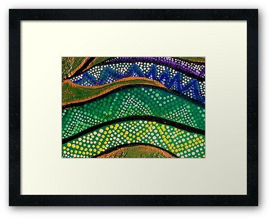 Rainbow Serpent  by Tammy  Porter
