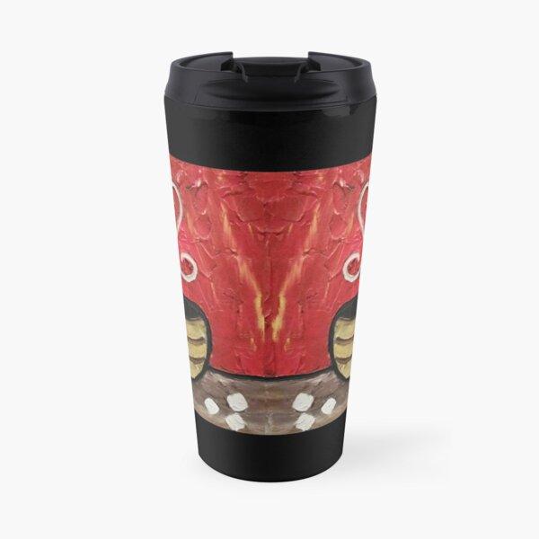 Coffee Cup Painting Travel Mug