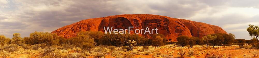 Dark Side of the Rock by WearForArt