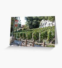 Vineyard California Greeting Card