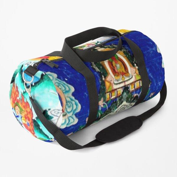Powerful Healing Tibetan Thankga Duffle Bag
