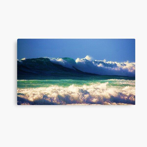 Waves 6 Canvas Print