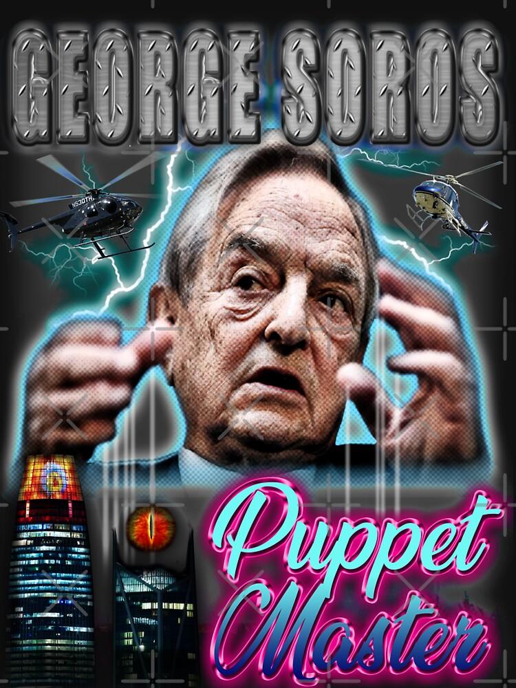 George Soros - Conspiracy tee by bigdaddynutnut