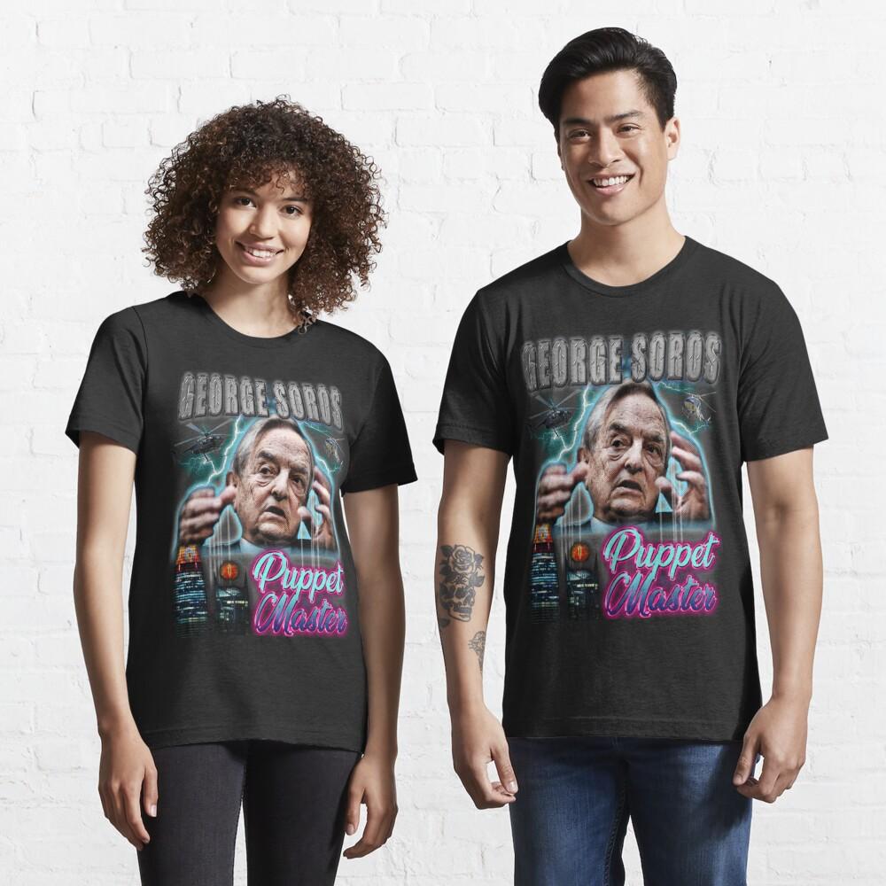 George Soros - Conspiracy tee Essential T-Shirt