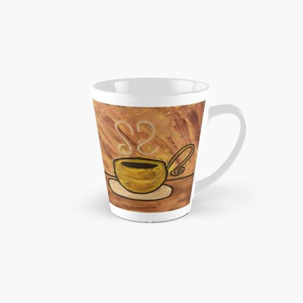 Morning Mocha Coffee Cup Painting Tall Mug