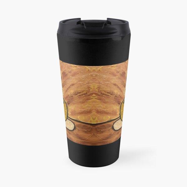 Morning Mocha Coffee Cup Painting Travel Mug