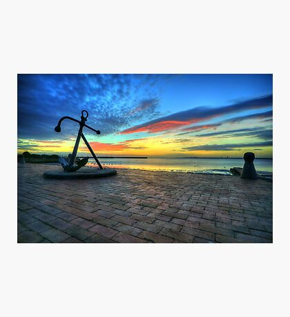 The Anchor  Photographic Print