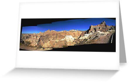 Badlands National Park Panorama by Bryan Shane