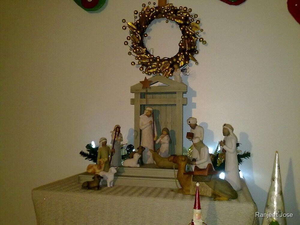 Christmas - Nativity Scene  by Ranjeet Jose