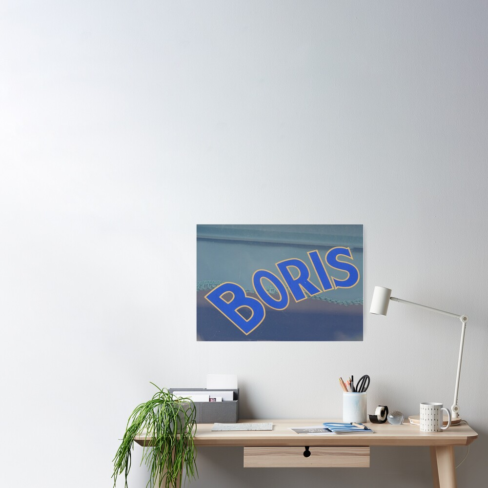 Boris, Russian Name, Boris mask  Poster