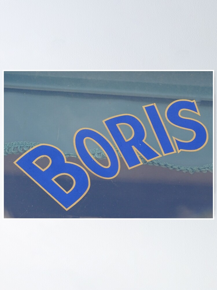 Alternate view of Boris, Russian Name, Boris mask  Poster